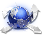 metallic-blue-globe-internet-arrows-www-url