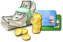 money-cash-coins-dollars-credit-cards-value-guide-information-tips-help