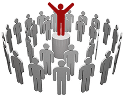 people-crowd-standing-out-unique-tips-advice-help-selling-sales-information-guide
