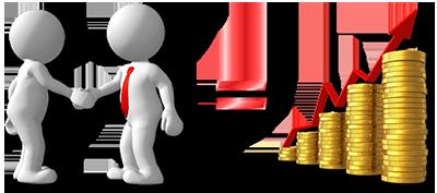 relationships profits business earnings handshake money
