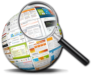 web-pages-globe-magnifying-glass-websites-blogs-help-tips-overview