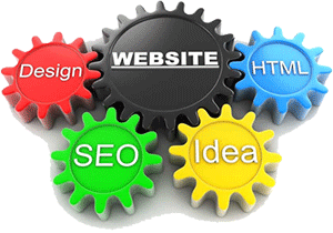 website elements gears aspects